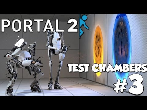 We Messed Up | Portal 2 Co-Op Community Test Chambers w/ Jamba & FSF | Part 3