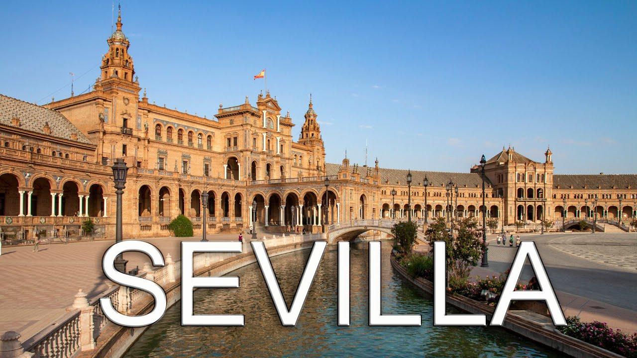 Seville A walking tour around the city / Sevilla Un paseo por la ...