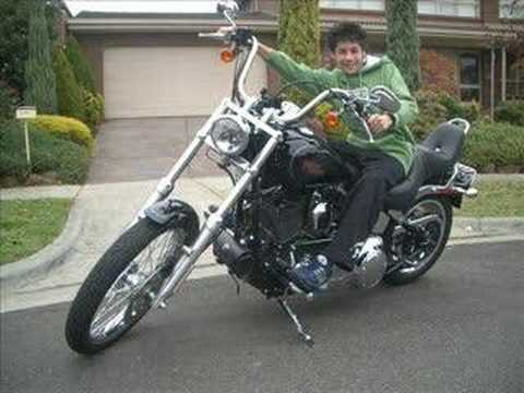 2007 Harley Davidson Softail FXSTC Video