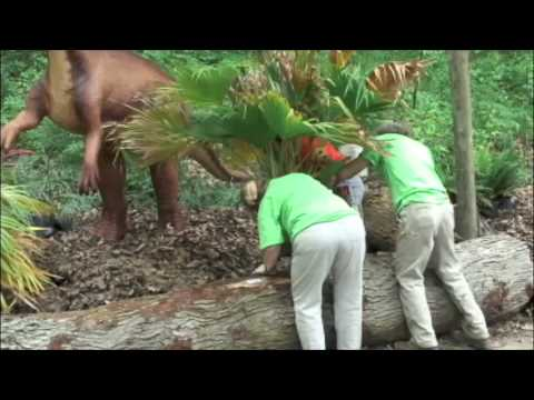 Dinosaur Habitats at Cleveland Metroparks Zoo