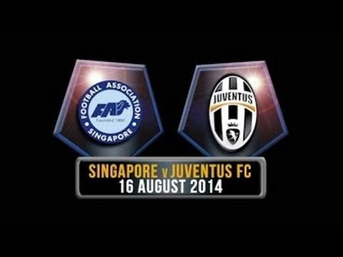 Singapore XI vs Juventus (0-5) All Goals and Full Match (16/08/2014) HD Friendly