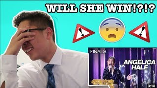 Angelica Hale: Two Time Golden Buzzer Singer STUNS The Judges - America's Got Talent: The Champions