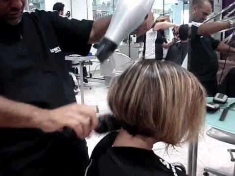 Corte de cabelo chanel na navalha..