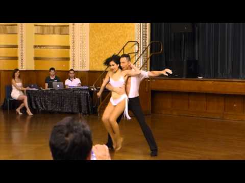 2015 Australian Bachata Championship - Pro/Am Couple - Mitch and Doriane
