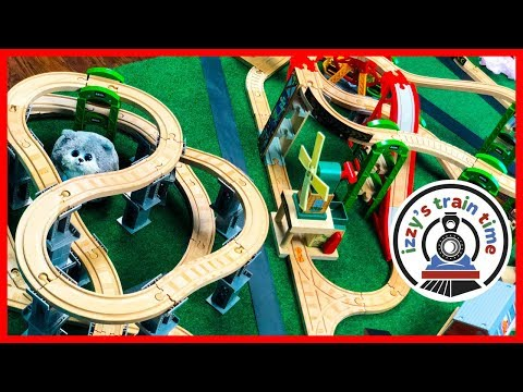 Thomas and Friends TAPE CHALLENGE! Fun Toy Trains for Kids