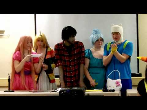 Adventure Time Panel - Animinneapolis 2013 video