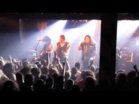 Testament - Live - Sidewave - Into The Pit - Oxford Art Factory - Sydney Australia - 26 Feb 2014