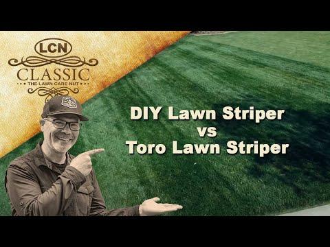 DIY Lawn Striper vs Toro Lawn Striper