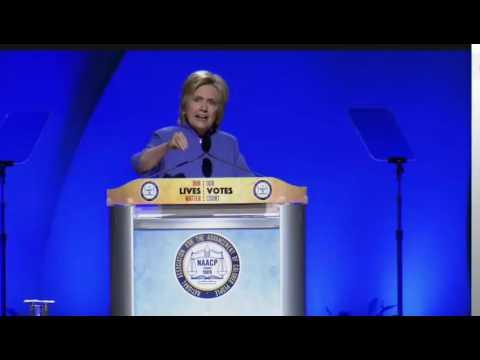 Hillary Clinton NAACP Convention FULL Speech 7/18/16 Cincinnati