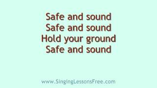 Capital Cities - Safe and Sound, Lyrics