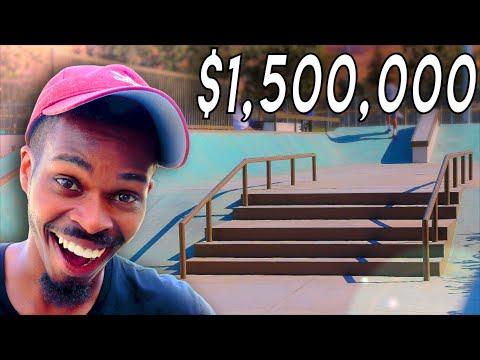 DESTROYING A NEW $1.5 MILLION DOLLAR SKATEPARK IN MILPITAS, CA!