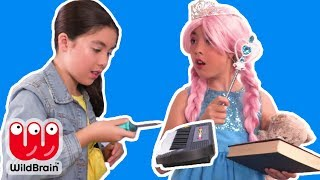 The Mystery Magic PIANO🎹 - Princesses In Real Life | Kiddyzuzaa Jr - WildBrain