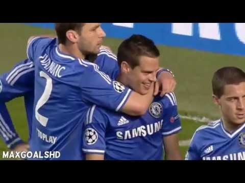 Fernando Torres Goal ~ Chelsea vs Atletico Madrid champions league