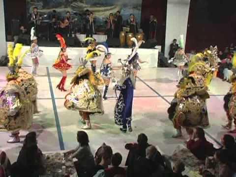 La Morenada Rey Moreno en el brisas Titicaca