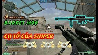 Crossfire : Cụ Tổ Của Sniper Dòng Barret | Đột Kích | Huy Hai Huoc