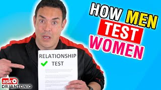 3 Ways Men Test Women - Instantly Reveal He's a Player - Dating Advice