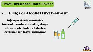 7 Things Travel Insurance Don't Cover - LetsCompare Malaysia