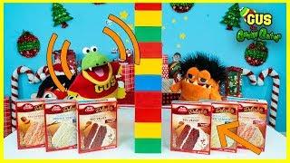 Twin Telepathy Cake Challenge ! Red Velvet Vs. Strawberry !