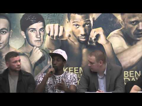 PRESS CONFERENCE - YORKHALL CARD MARCH 7TH feat- BEN DAY, RAKEEM NOBLE, MATHEW CHANDA, JIMMY PERRIN