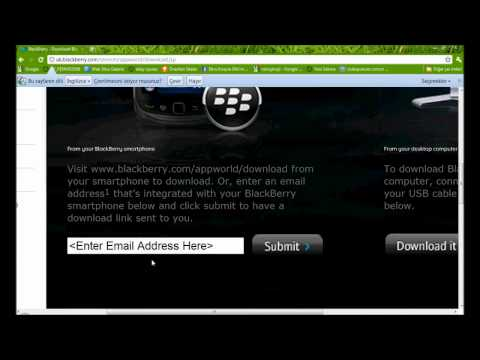 How to download Blackberry App World