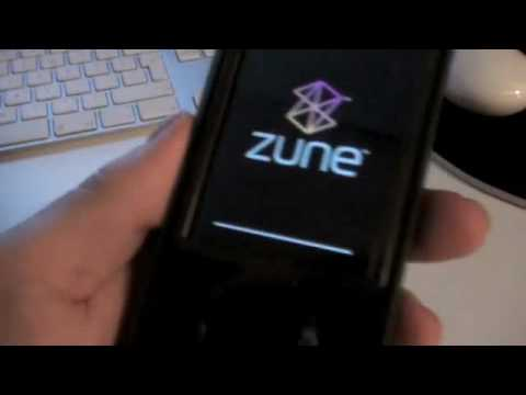 Failing Zune 30GB New Years Eve Update 1