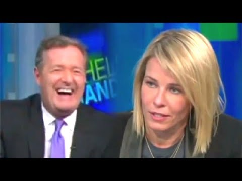 Chelsea Handler On Piers Morgan - AWKWARD!