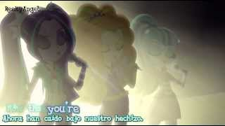 My Little Pony: Rainbow Rocks |Under our Spell| Subtitulada Español Ingles |720p|