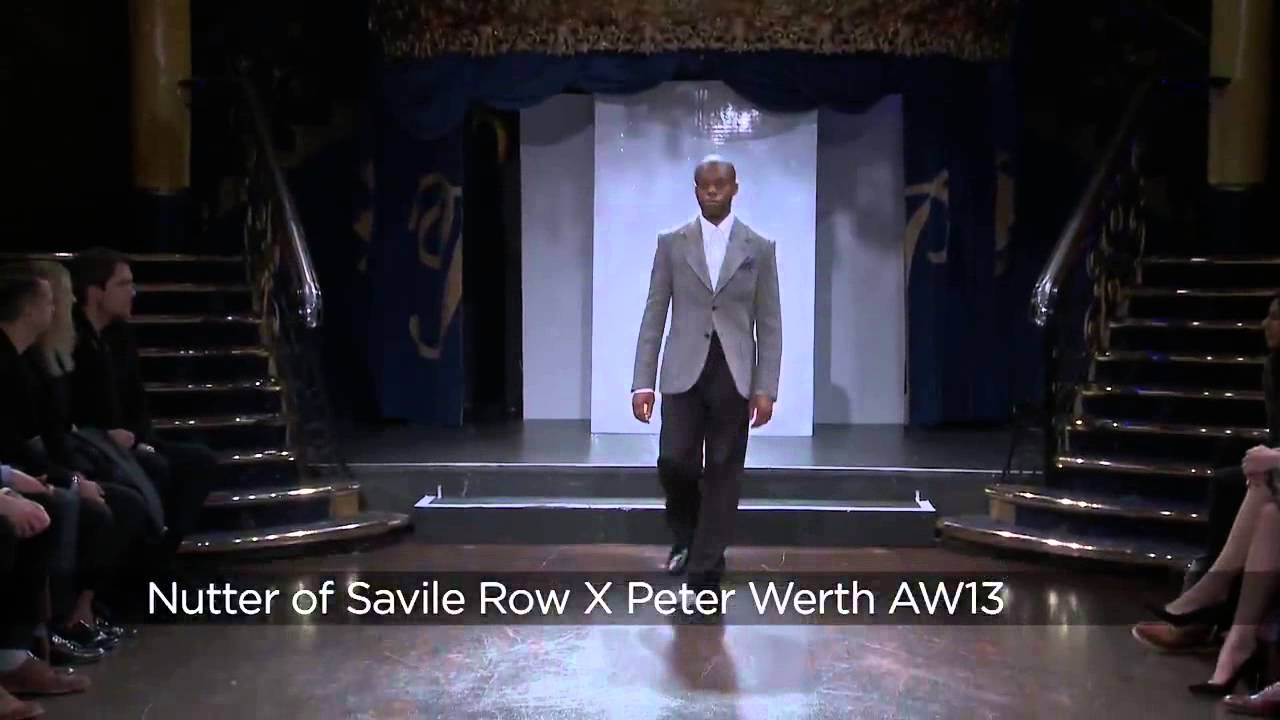 Nutters of Savile Row x Peter Werth: LC:M AW13