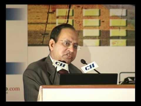 TRAI Chairman J S Sarma at the CII Content Summit