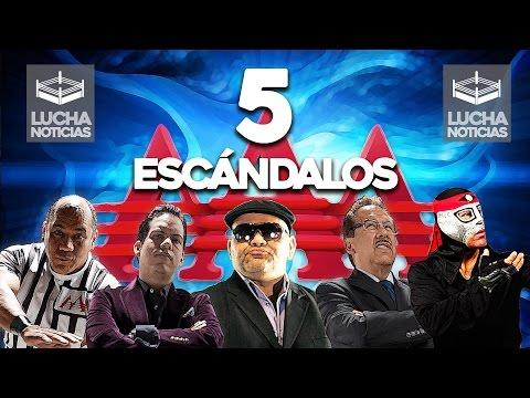 5 Escándalos de Lucha Libre AAA - Acoso Sexual, sueldos y más.