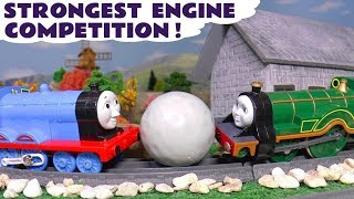 Thomas and Friends Strongest Engine Competition with funny Funlings TT4U