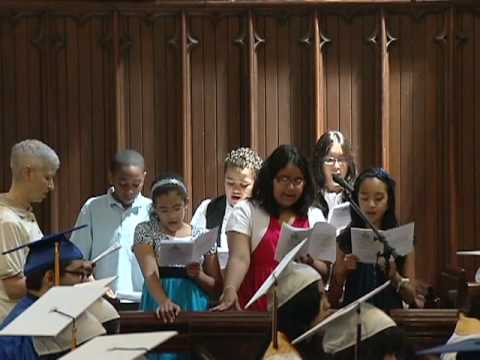 Hymn: All Good Gifts. Immaculate Conception School Class 2010 Graduation NYC Song 2 - 07/06/2010