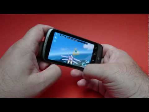 Tom Clancy's H.A.W.X HD demo on Google HTC Nexus One