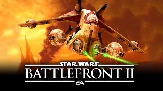 Star Wars Battlefront 2 - All Vehicles Including Tanks, Transports, Starfighters We Know of So Far!