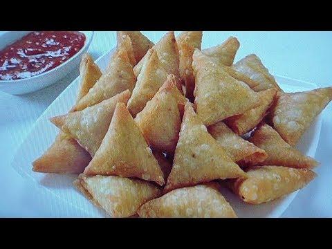 ఆనియన్ సమోసా వీటిని బయట వాటి కంటే చాలా టేస్టీగా ఇంట్లోనే ఈజీగా తయారు చేసుకోవచ్చు Onion samosa