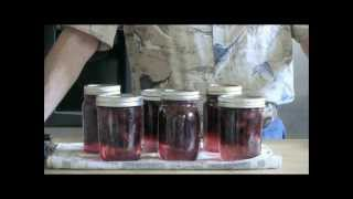 Canning Blackberries