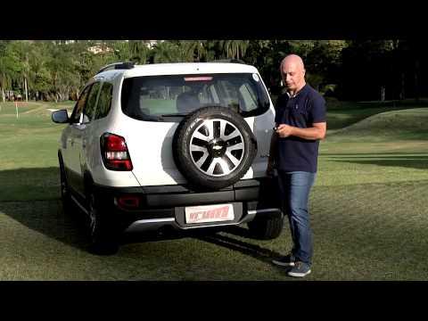 Chevrolet apresenta o Spin Activ. com o polêmico estepe na tampa do porta-malas