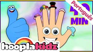 Polegares e Mais Músicas Para Crianças - Músicas Infantis Compiladas - Hooplakidz Brasil