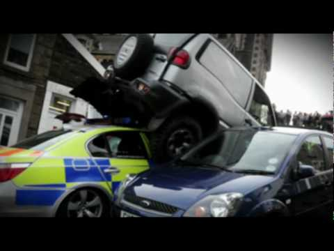 Traffic Cops - Crazy Mobile Phone Driver Rams Police Officer Music Videos