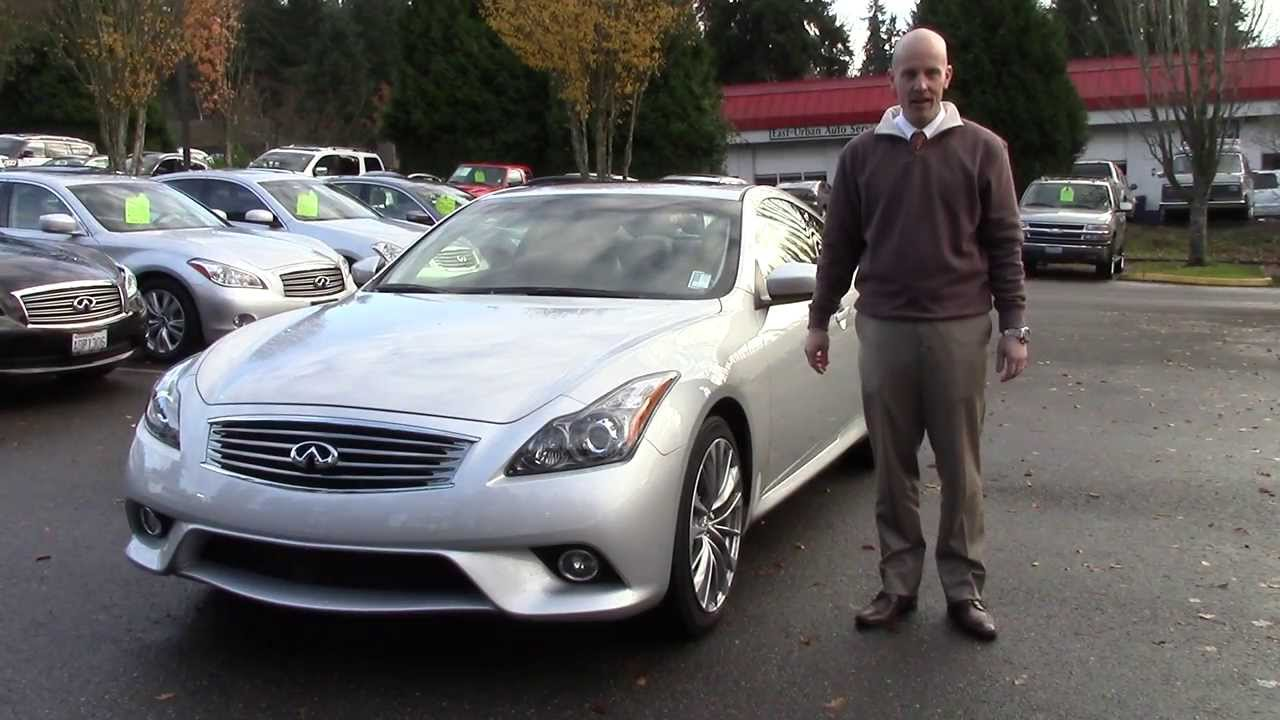 2013 Infiniti G37 coupe review - in 3 minutes you'll be an ...