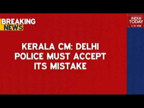 Hindu Sena Chief Detained By Delhi Police