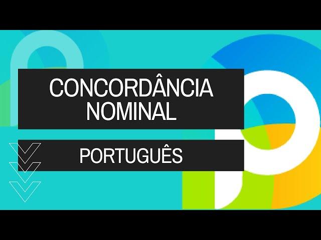 Português - Gramática - Sintaxe - Concordância Nominal - Vídeo Aula Concurso 2014