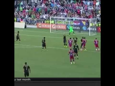 The most amazing goal signed by Robert Lewandowski vs The MLS All-Stars (7-08-2014 )