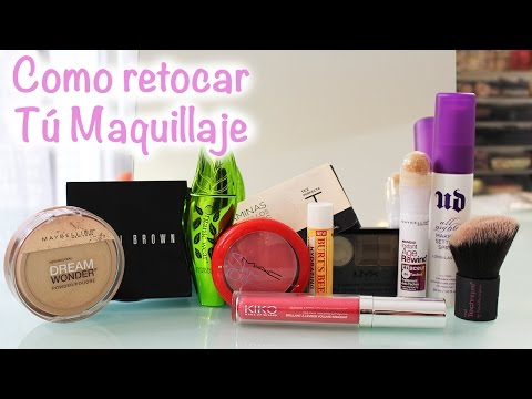 Como retocar Tú Maquillaje a lo largo del día (How to Refresh Your Makeup)