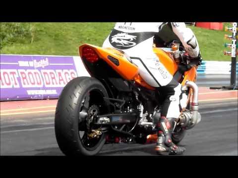GSXR 1000 Turbo Drag Bike Springspeed Natonals 2013