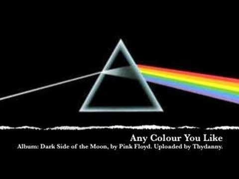 Any Colour You Like is listed (or ranked) 33 on the list The Best Pink Floyd Songs