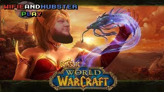 World of Warcraft CLASSIC BETA Gameplay - Leveling to 30, questing, pvp - Doin' it all!