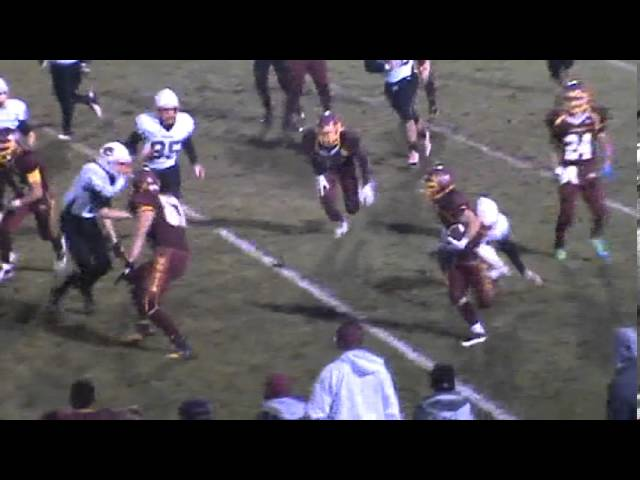 10-18-13 - Alec Petterson scores on a 69 yard run (Brush 20, Sterling 0)