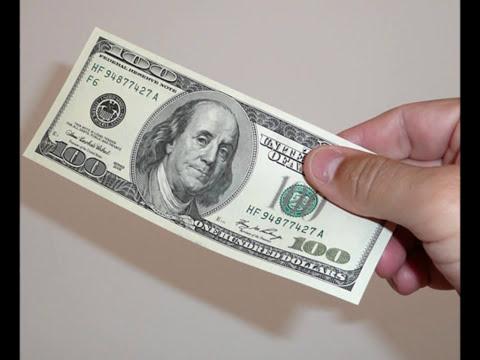 Reflexión de tu vida  El billete de 100 dólares