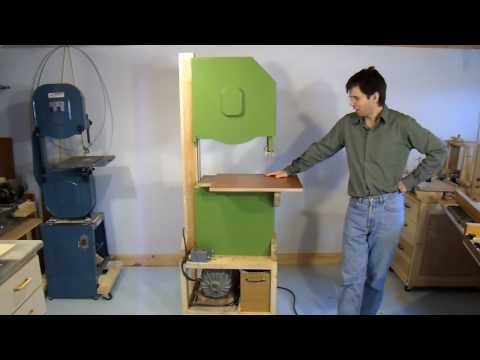 Home made bandsaw (version 1)